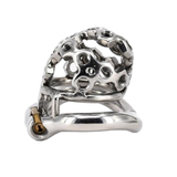 Nut Case Metal Chastity Device 2.01 inches long