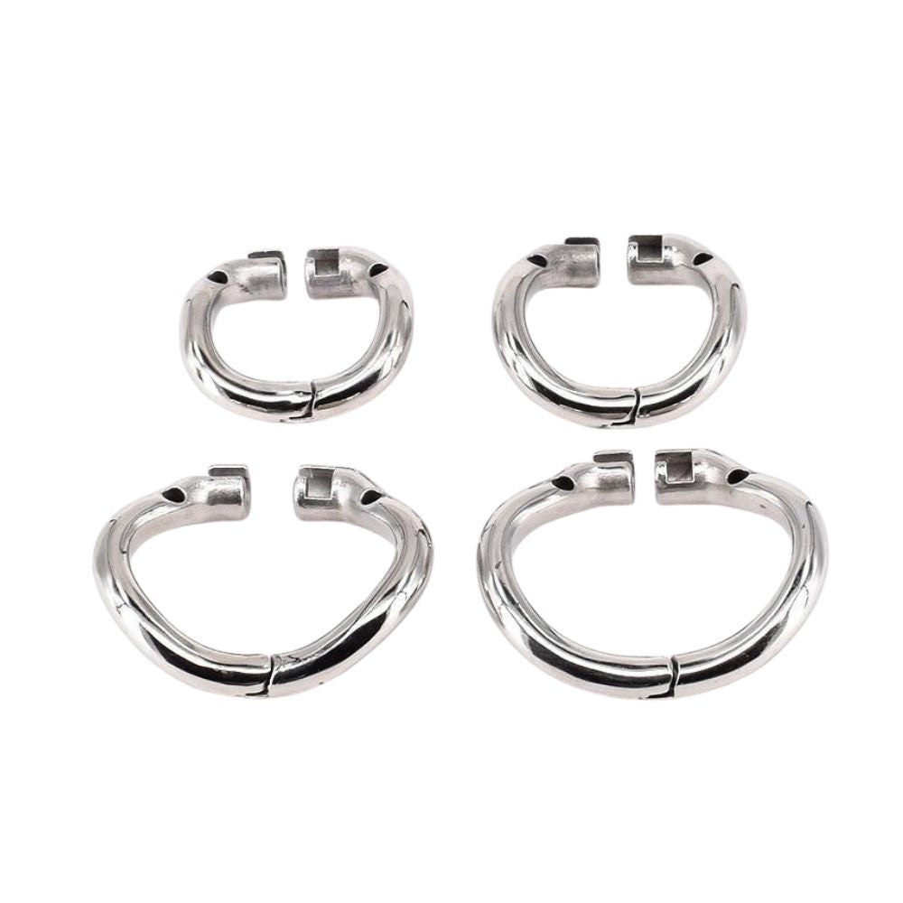 Accessory Ring for Double Locked Cock Male Chastity Device