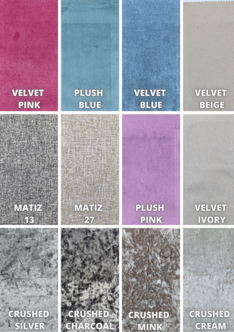Available Fabric selection