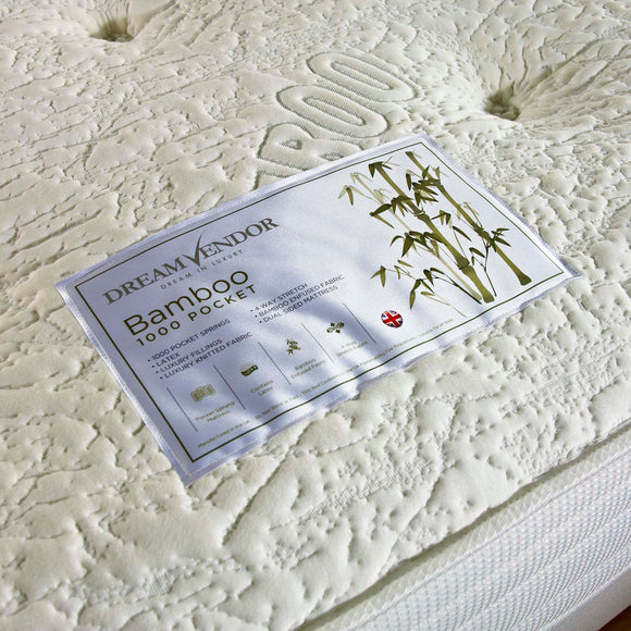 Bamboo 1000 Double Mattress - Sure Sleep Beds Doncaster