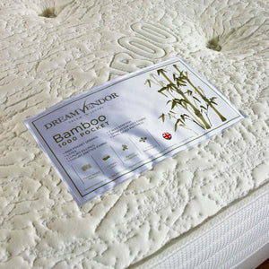 Bamboo 1000 Single Mattress - Sure Sleep Beds Doncaster