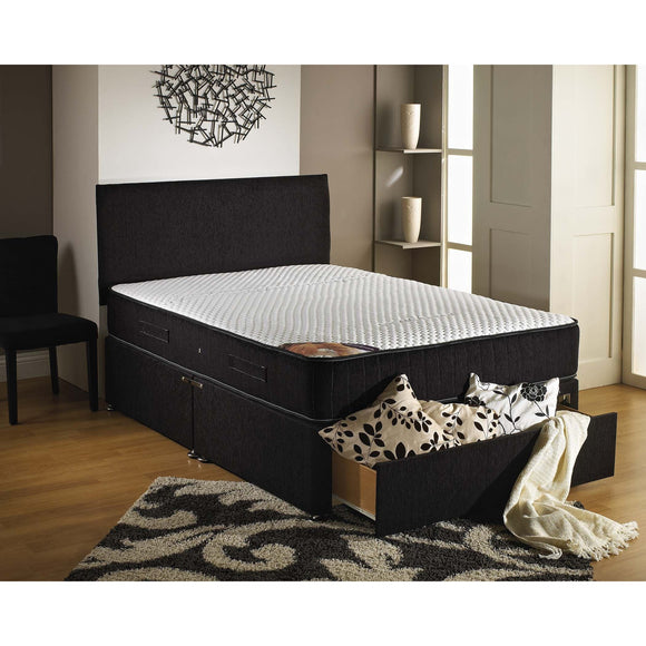 Brighton Memory Ortho King Size Divan Bed - Sure Sleep Beds Doncaster