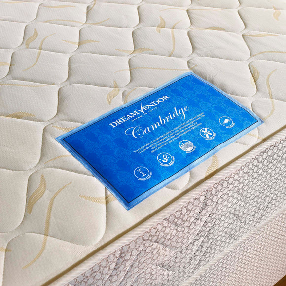 Cambridge Single Mattress - Sure Sleep Beds