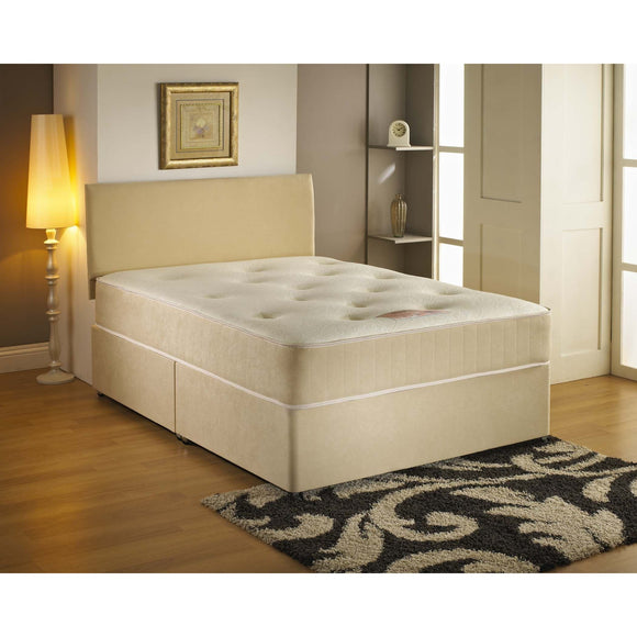 Cumbria Memory Foam Single Divan Bed - Sure Sleep Beds Doncaster
