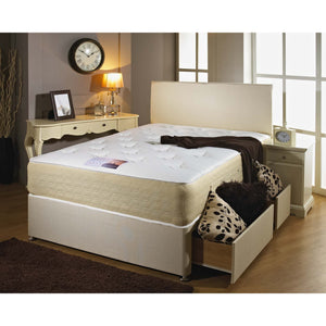 Double Decker Double Divan Bed - Sure Sleep Beds Doncaster