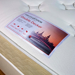 Double Decker Single Divan Bed - Sure Sleep Beds Doncaster