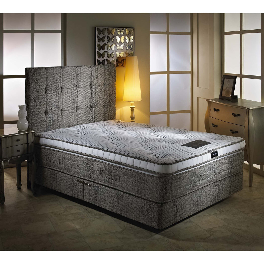 Eden Pillowtop Luxury Single Divan Bed - Sure Sleep Beds Doncaster