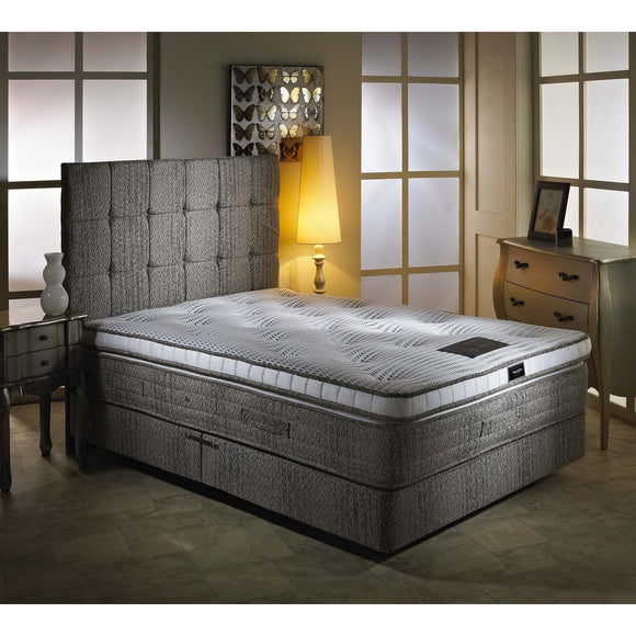 Eden Pillowtop Luxury Double Divan Bed - Sure Sleep Beds Doncaster