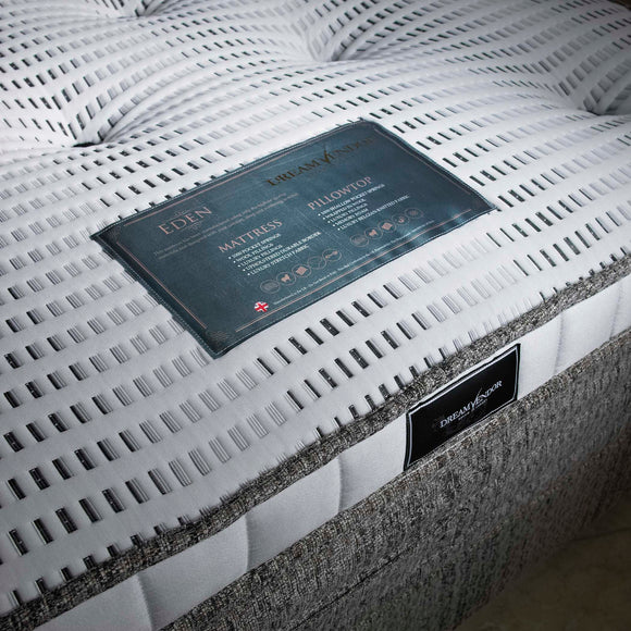 Eden Pillowtop Luxury Single Mattress - Sure Sleep Beds Doncaster
