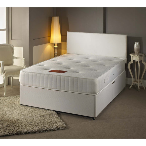 Emperor 1000 Pocket Double Divan Bed - Sure Sleep Beds Doncaster