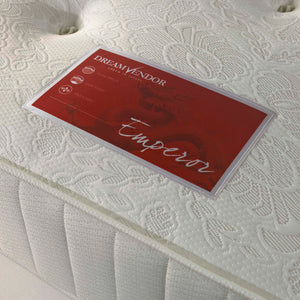 Emperor 1000 Pocket King Size Mattress - Sure Sleep Beds Doncaster