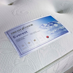 Everest King Size Mattress - Sure Sleep Beds Doncaster