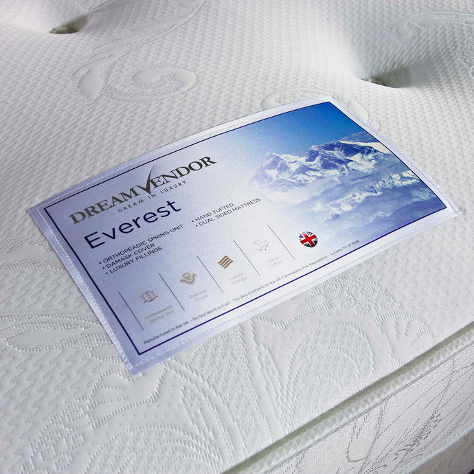Everest Double Mattress - Sure Sleep Beds Doncaster