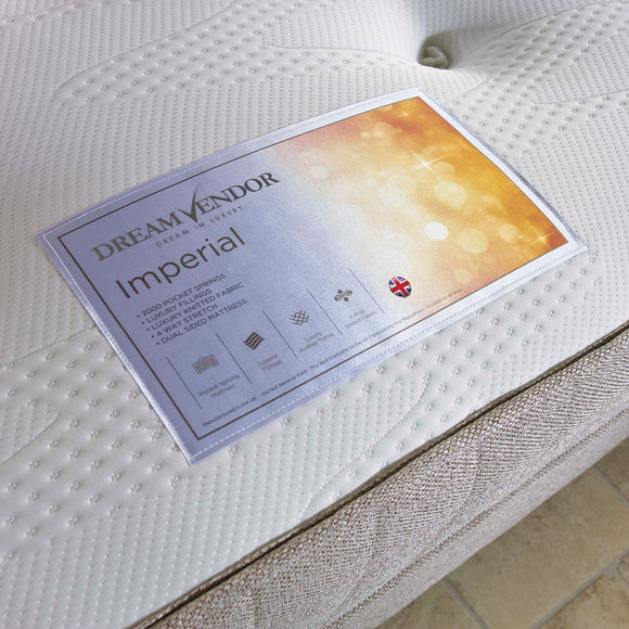 Imperial 2000 Double Mattress - Sure Sleep Beds Doncaster