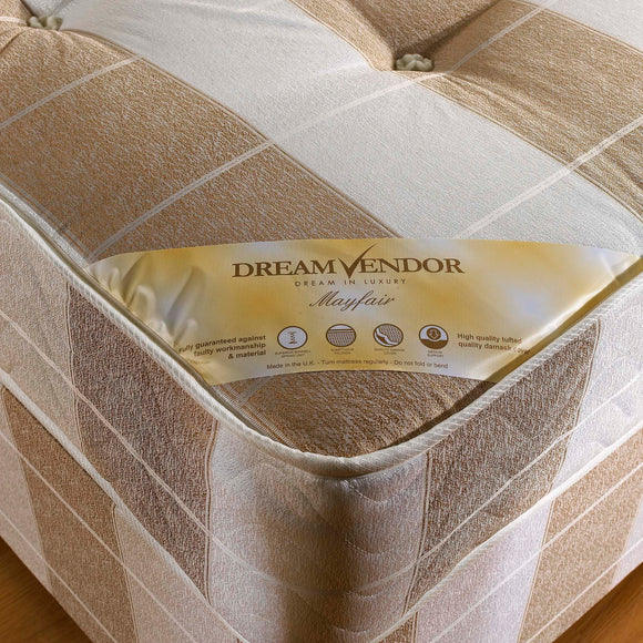 Mayfair Single Divan Bed - Sure Sleep Beds Doncaster