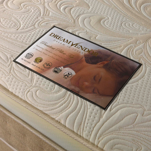 President 1500 Double Mattress - Sure Sleep Beds Doncaster