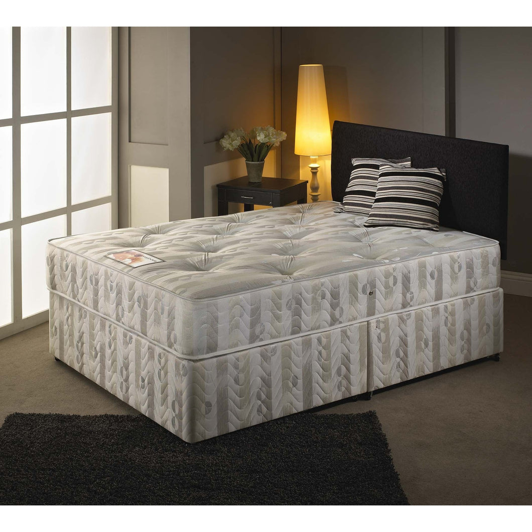 Saffron Double Divan Bed - Sure Sleep Beds Doncaster