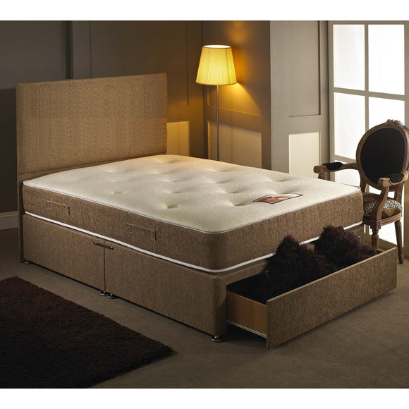 Sovereign 1000 King Size Divan Bed - Sure Sleep Beds Doncaster