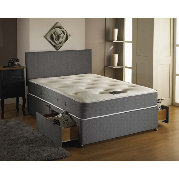 Venice Memory Foam King Size Divan Bed - Sure Sleep Beds Doncaster