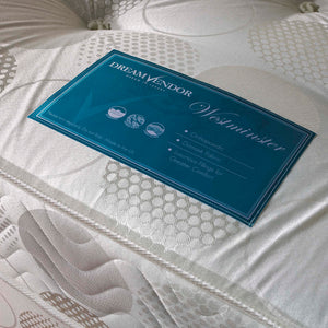 Westminster Orthopaedic Double Mattress - Sure Sleep Beds Doncaster