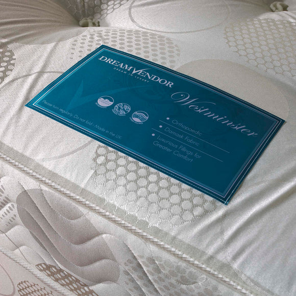 Westminster Firm Double Mattress - Sure Sleep Beds Doncaster