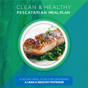 Pescatarian Clean & Healthy Meal Plan (Digital Download)