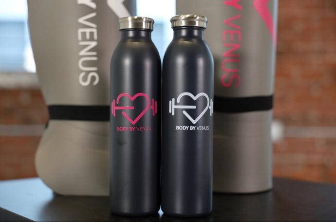 BBV Water Bottle & Yoga Mat Combo