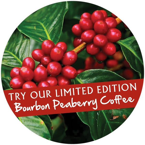 Peaberry Coffee Bourbon 1 kg