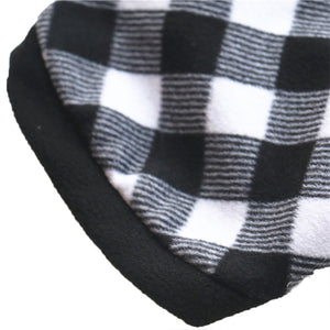 Black & White Dog Winter Jacket