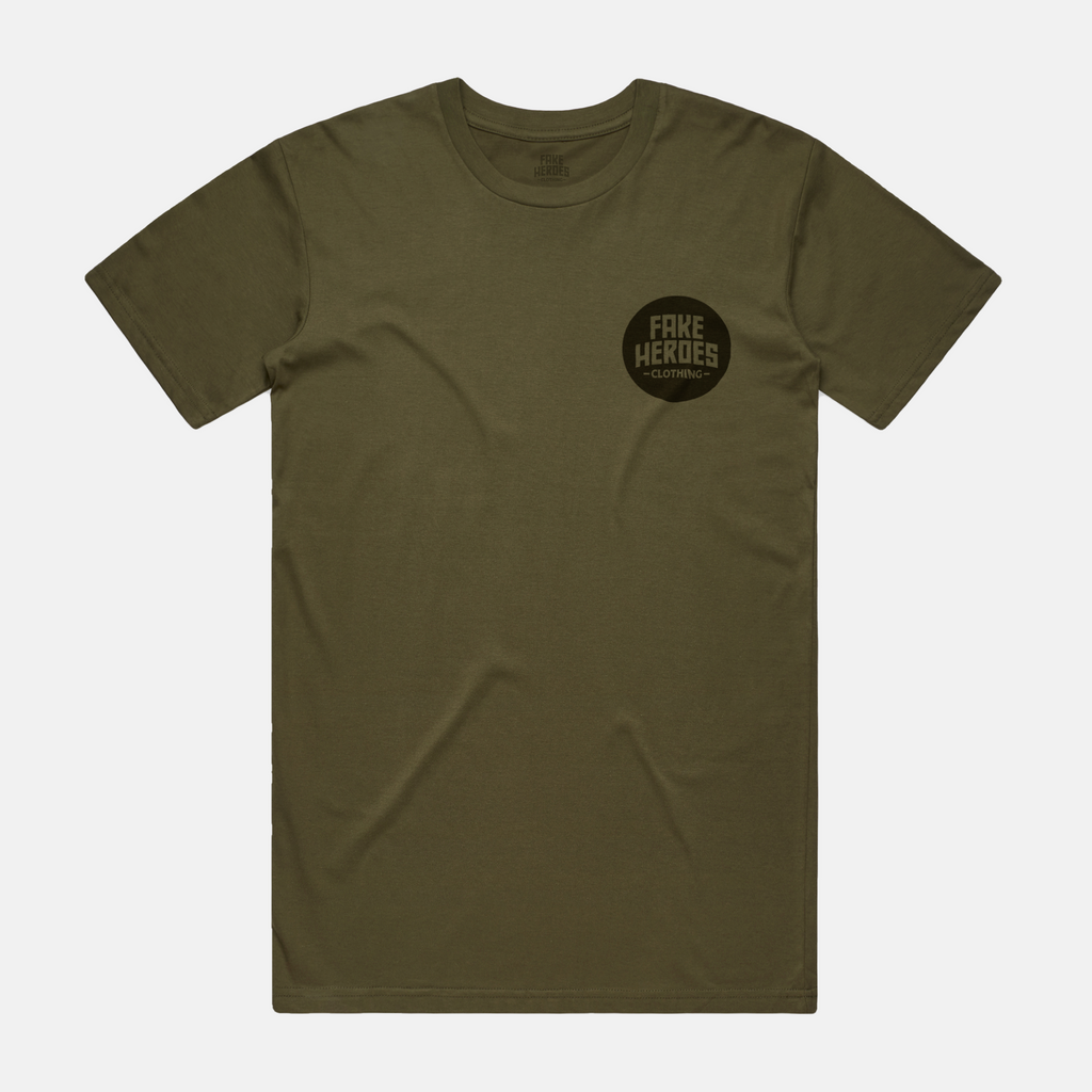 Khaki Staple T-Shirt
