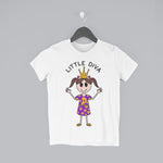 Little Diva Kids Tee