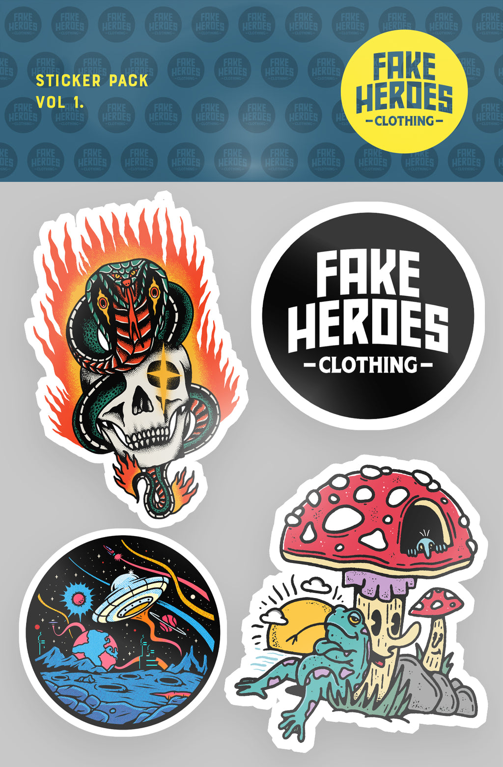 Sticker Pack Vol. 1