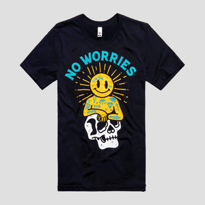 No Worries (Front Print)