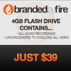 Branded By Fire 2013 Flash Drive