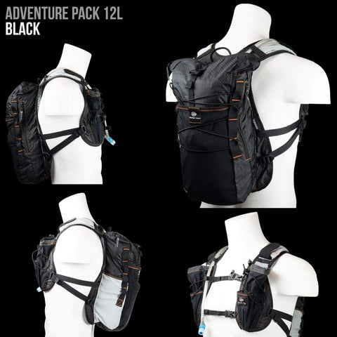 Adventure Pack, 12L: Ideal for ultra running, hiking, mountain biking