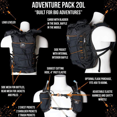Adventure Pack 20L: Ideal For Running And Fast Packing Big Distances. - Packs