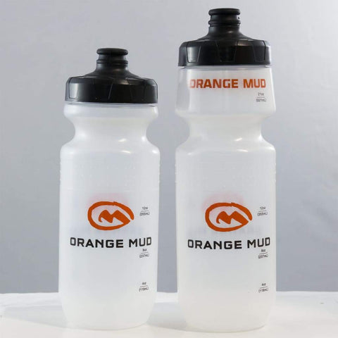 Orange Mud Running Water Bottle - Hydration