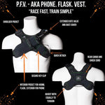 Phone. Flask. Vest.: Ideal For Running And Riding Less Than 2 Hours. - Packs
