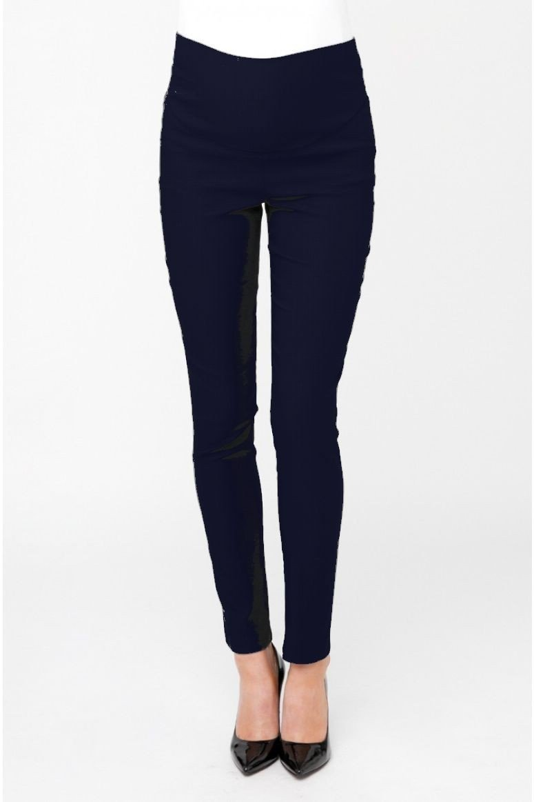 Ripe Maternity Suzie Super Straight Pant - Navy