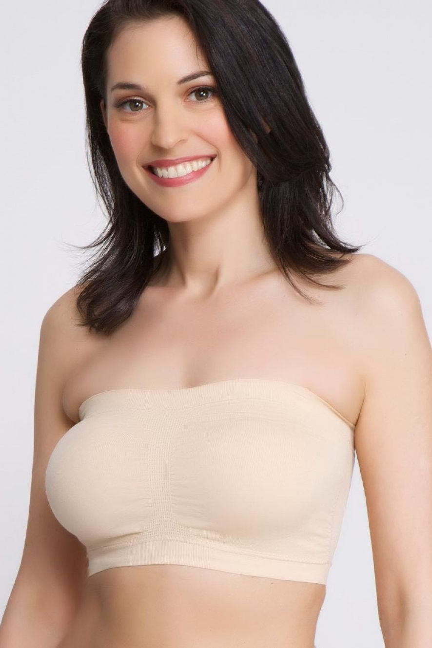 La Leche League - Seamless Nursing Bandeau - Nude
