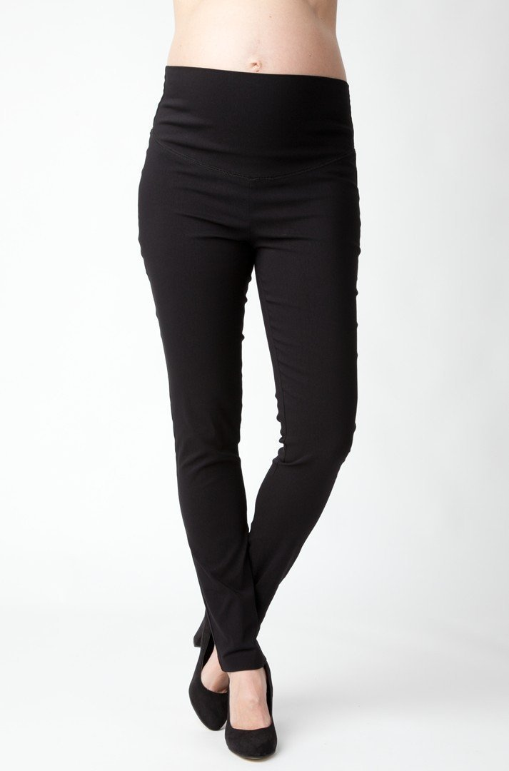 Ripe Maternity Suzie Super Straight Pant - Black