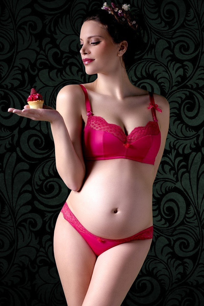 Cache Coeur Lollipop Nursing Bra - Grenadine
