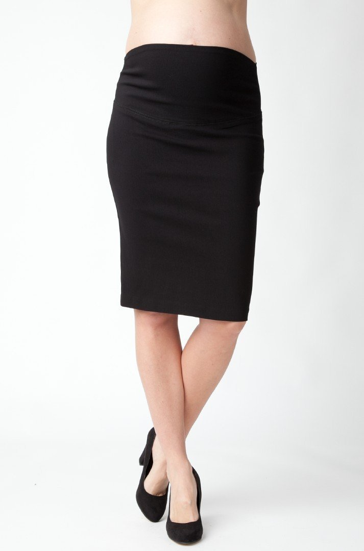 Ripe Maternity Suzie Pencil Skirt - Black