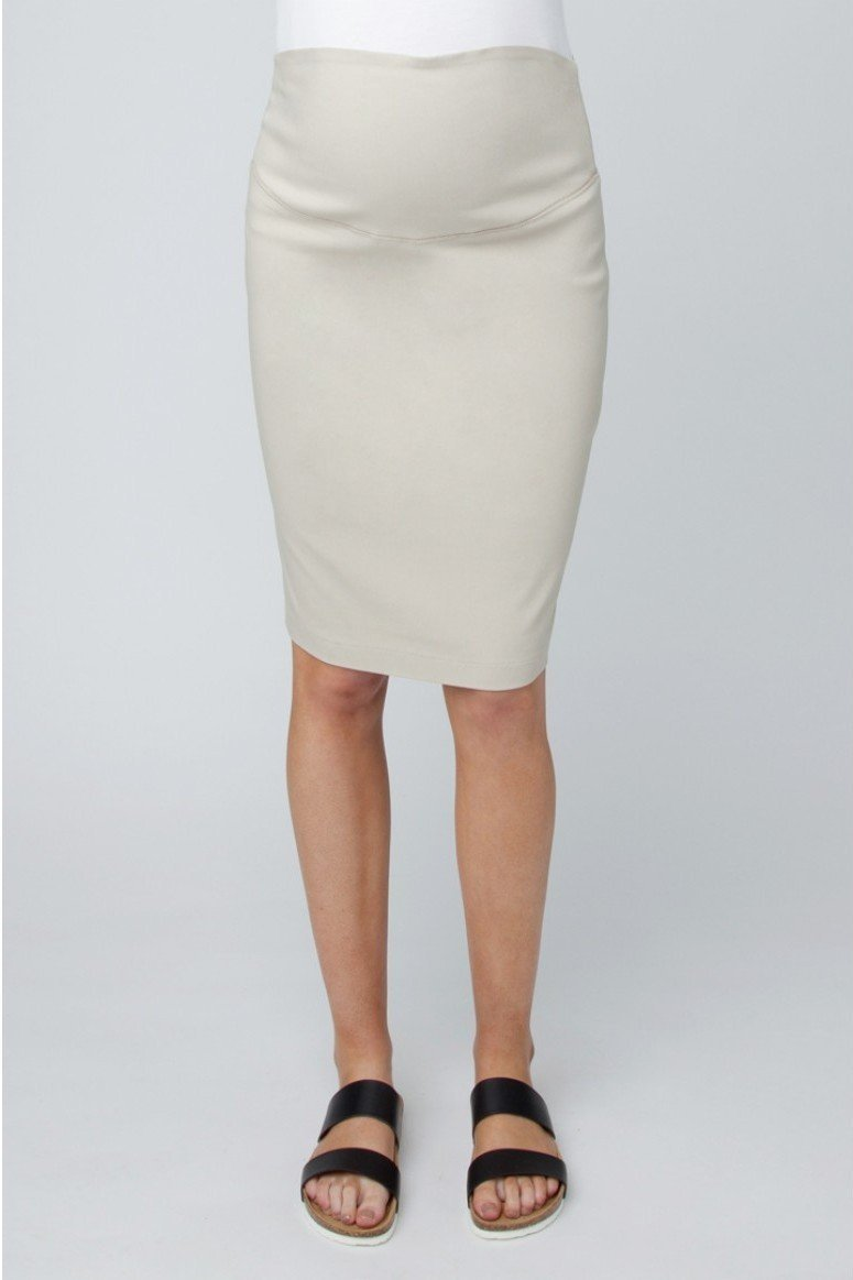 Ripe Maternity Suzie Pencil Skirt - Chino