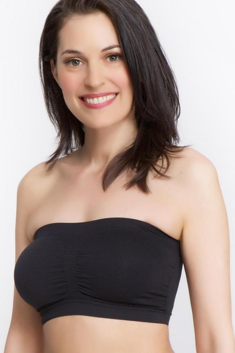 La Leche League - Seamless Nursing Bandeau - Black