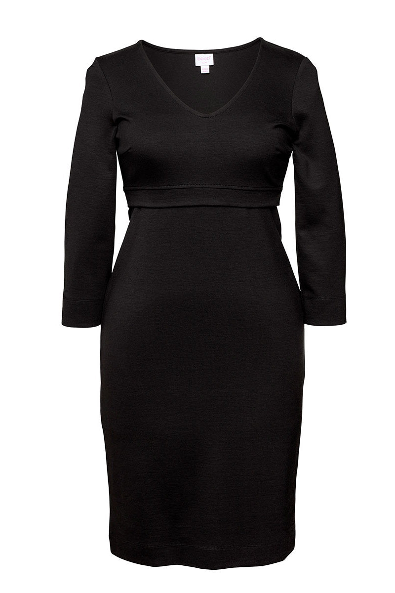 Boob LBD Long Sleeve Dress - Black