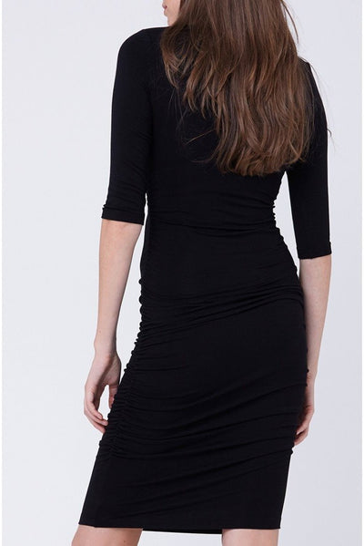 Ripe Maternity Cocoon Dress - Black