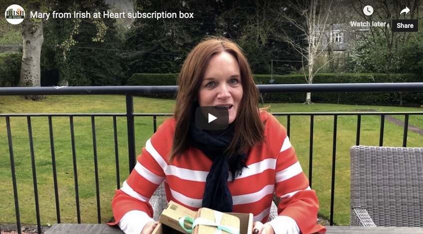 Video introduction to Bealtine box, May 2019 from Mary, our founder.