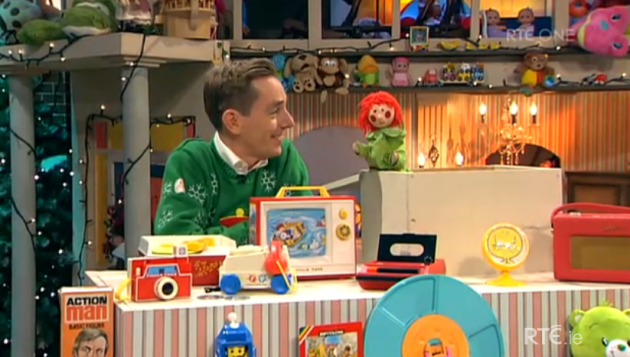 11 Nostalgic Toys of the Past and The Late Late Toy Show