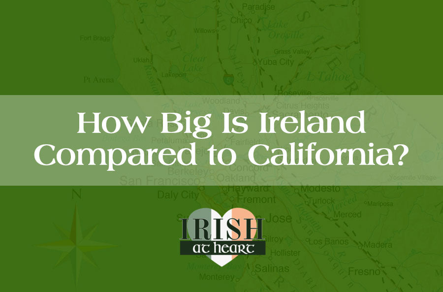 How Big Is Ireland Compared to California?